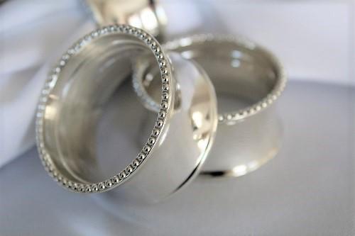 Silver Napkin Rings Rental