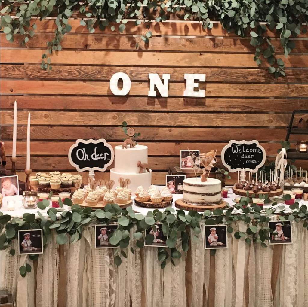 Wooden Backdrop Rental