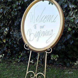 021 - Antique Mirror