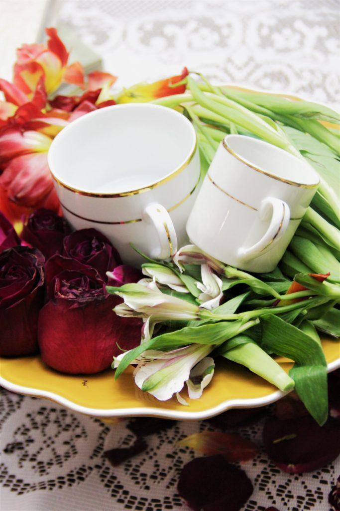 Gold Rim Tea Cup Coffee Mug Sacramento Rentals For The