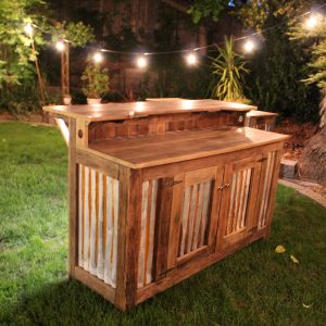 Rustic bar rental sacramento