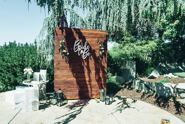 Wooden Backdrop Sacrmaneto Rentals For The Love Of Parties