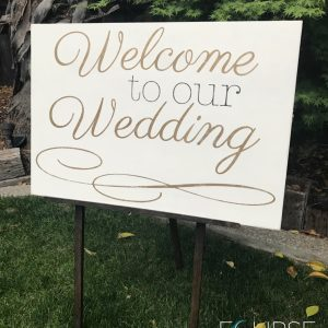 Wedding sign rental sacramento