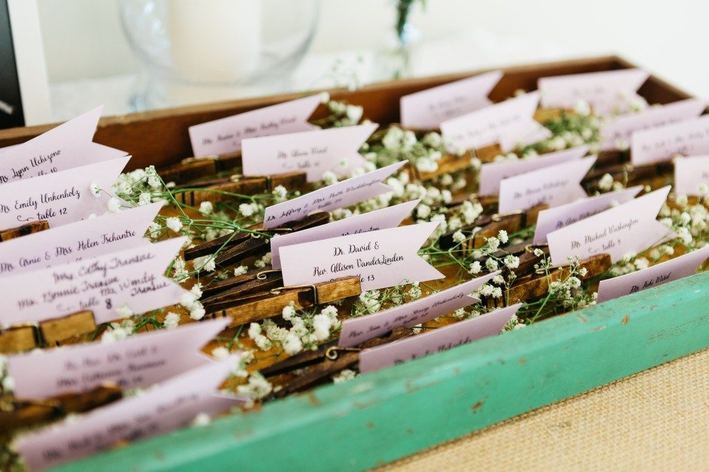 Wedding tips for guests, guest list