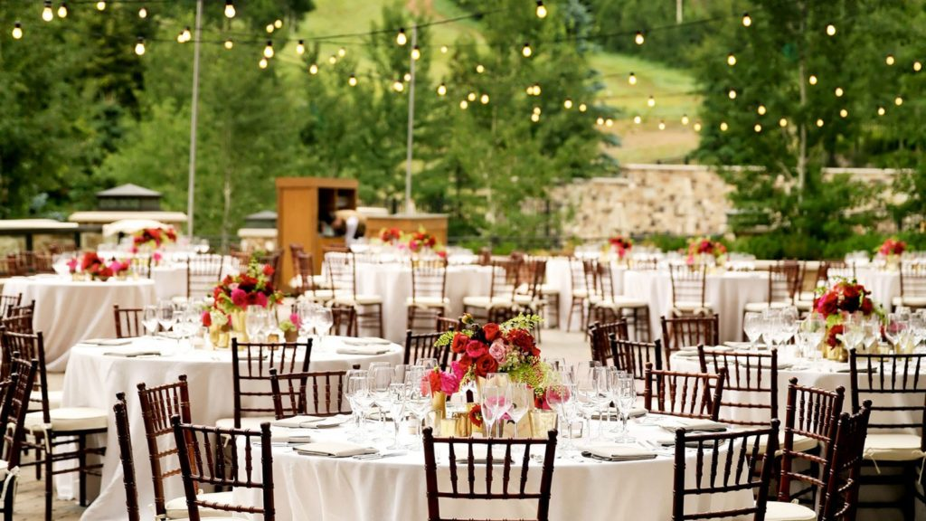 outdoor wedding venue inspiration