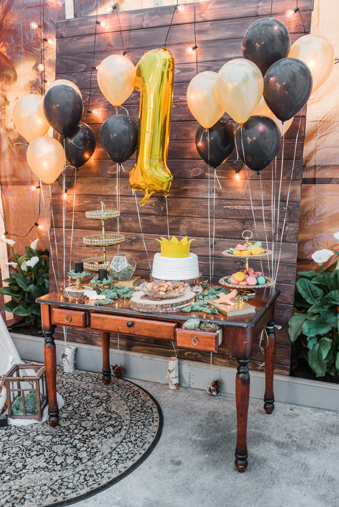 dessert table / where the wild things are / wild one birthday party