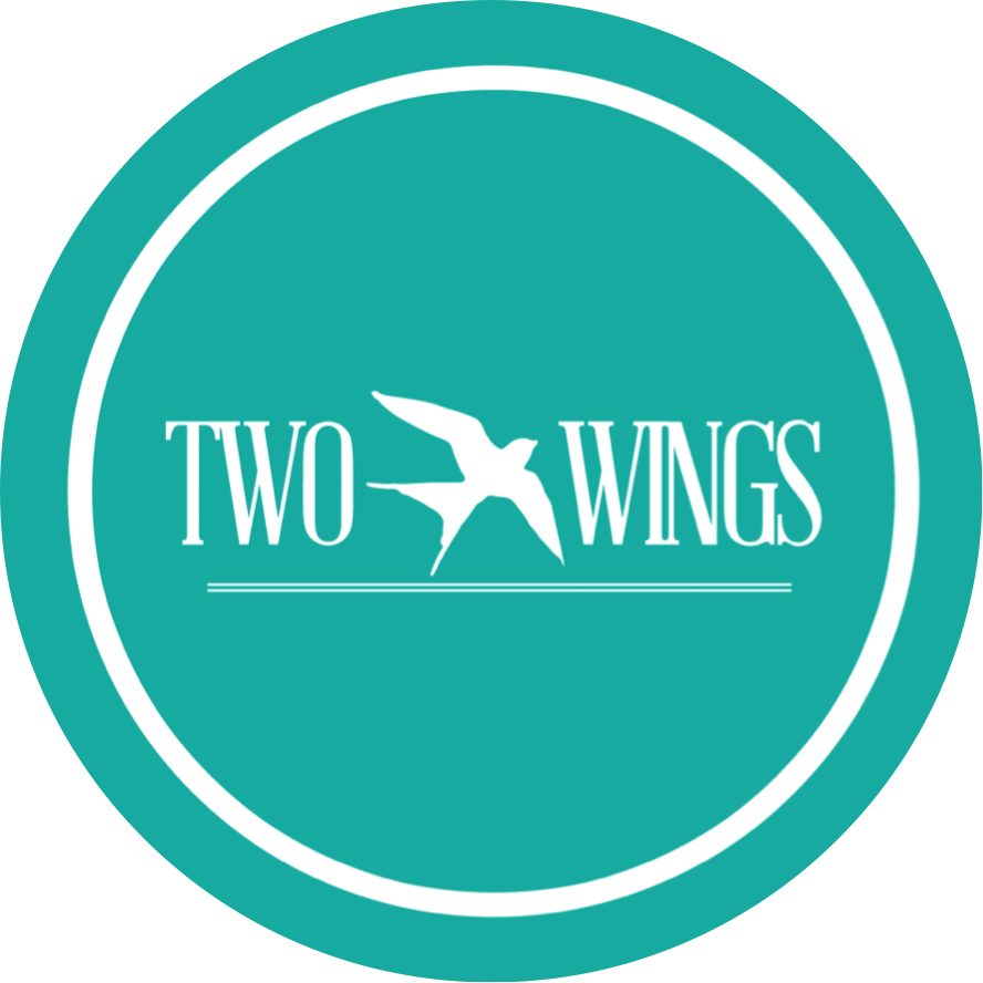 Two Wings Logo Party Rentals