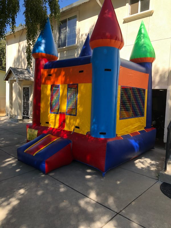 small castle bounce house