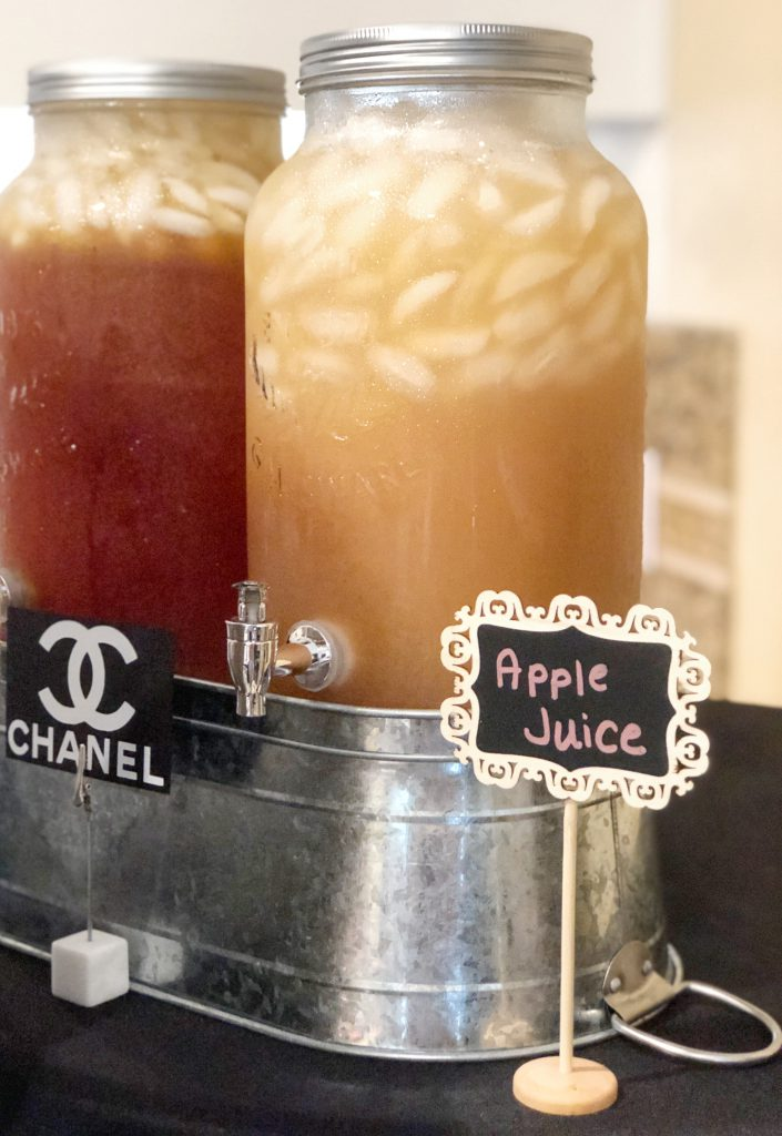 chanel party decoration ideas, chanel party themes