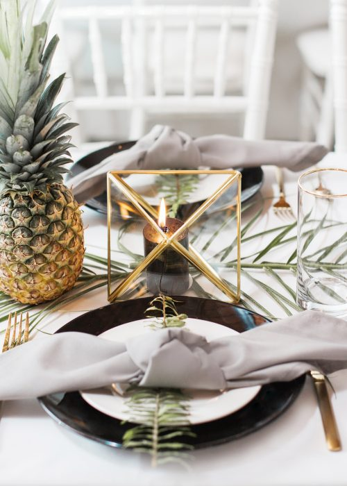 Chic Tropical Party Theme Ideas