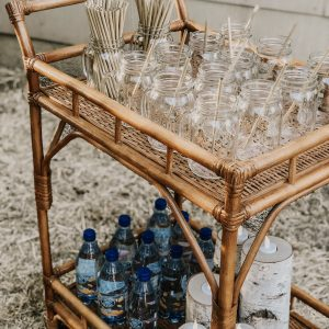 tiki bar cart rental