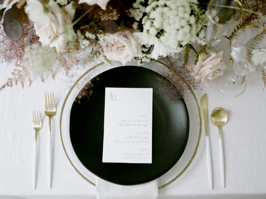 White And Yellow Gold Flatware Eventlyst
