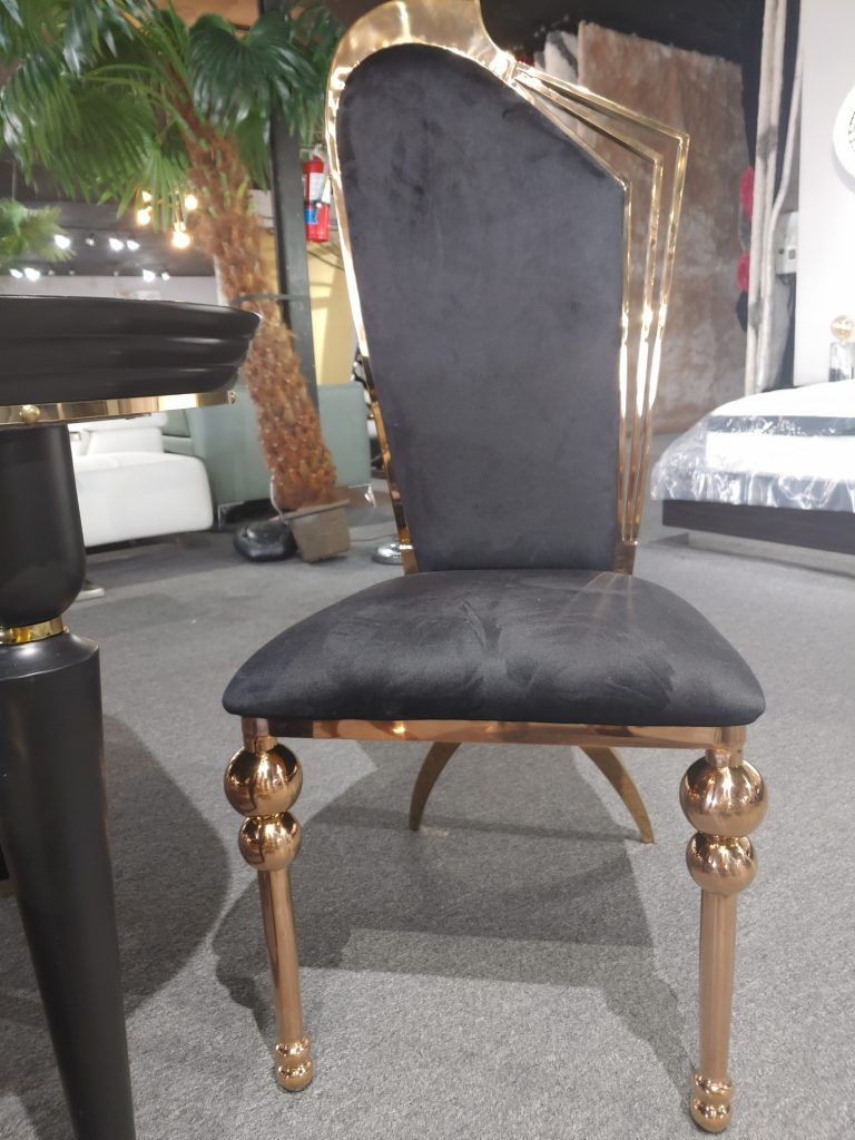 Black And Gold Chair Eventlyst