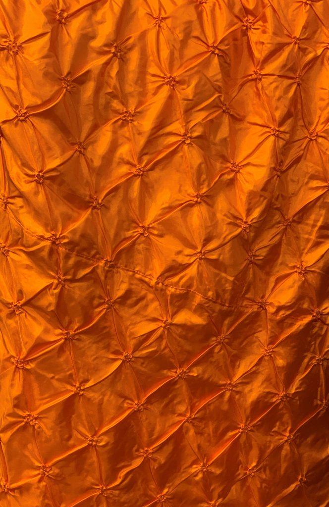 Orange Pucker Tablecloth Eventlyst