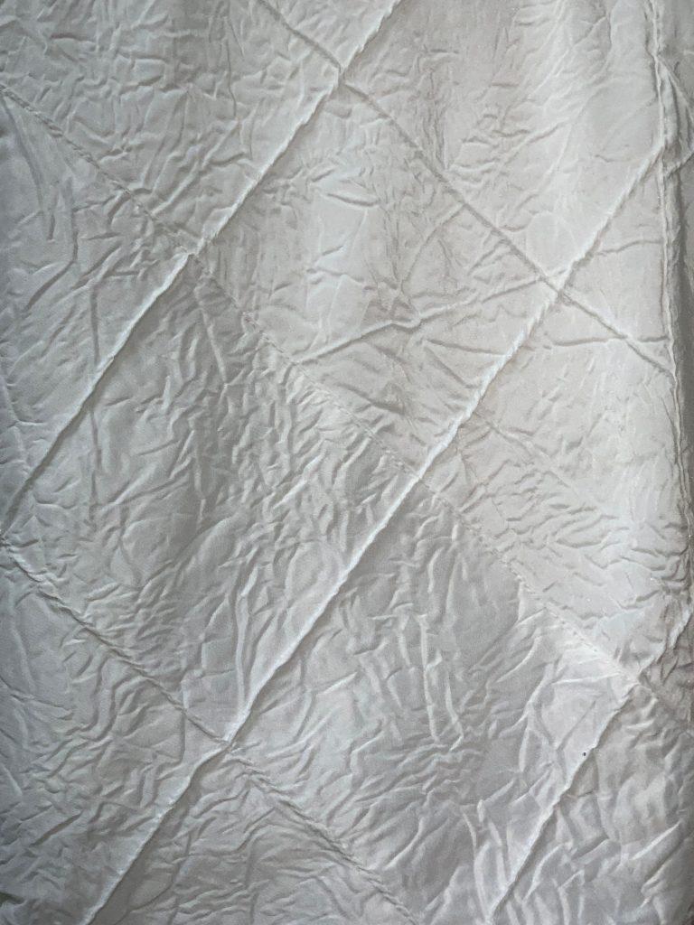 White Pintuck Crush 96x172 Tablecloth Eventlyst