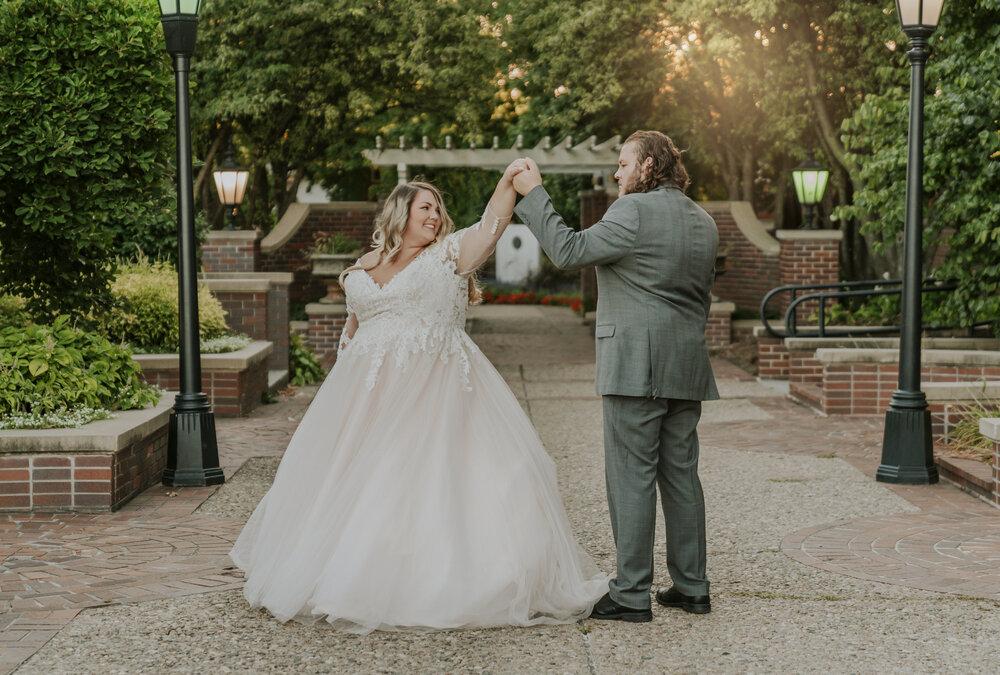 pop up wedding dance