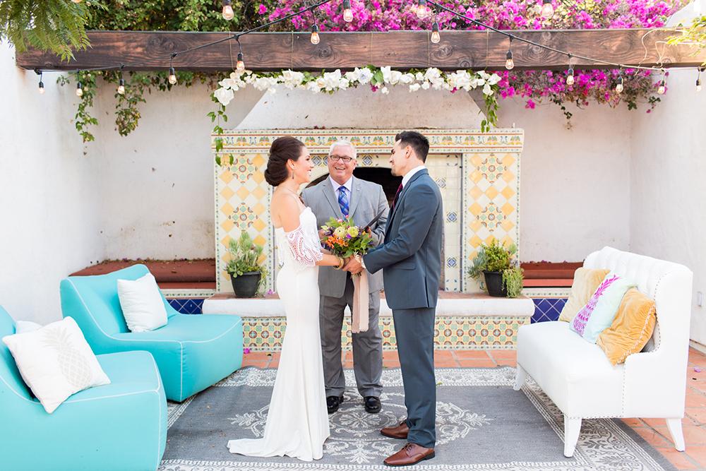 pop up wedding couple