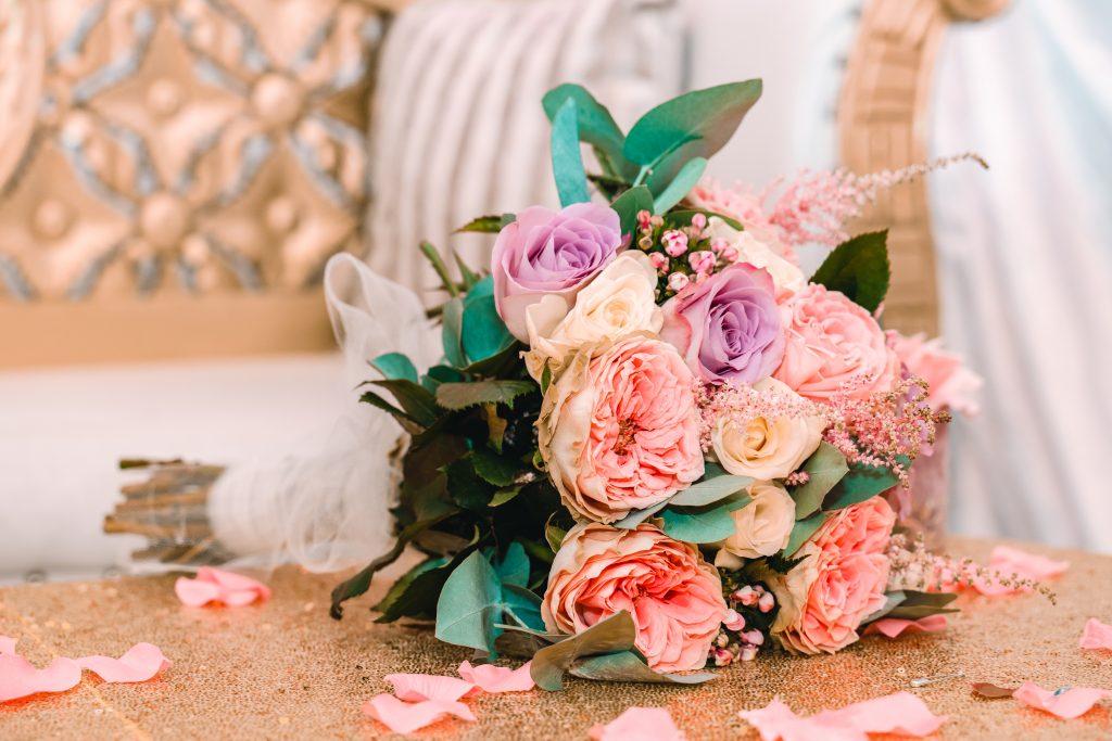 nikkah bouquet