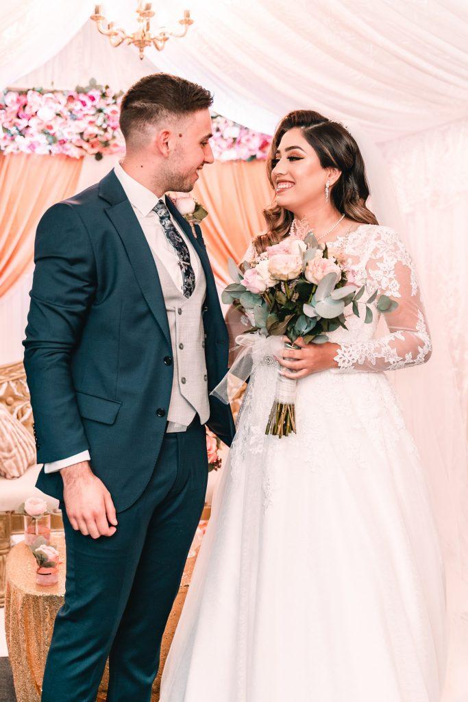 nikkah couple