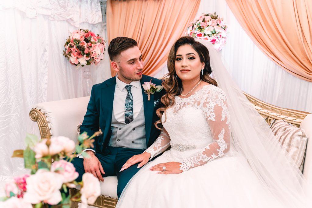 nikkah wedding couple
