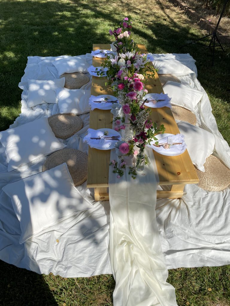 mothers day decor tabletop