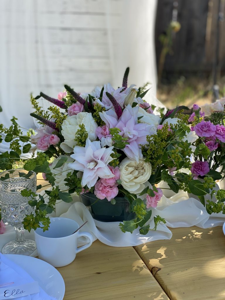 mothers day table centerpiece decor